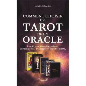 LIVRE PARANORMAL Comment choisir un tarot ou un oracle