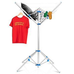 FIL À LINGE - ÉTENDOIR Séchoir à Linge Parapluie Rotatif en Aluminium Ant