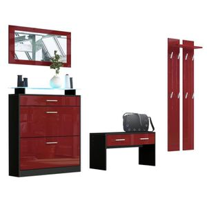 meuble d entr e achat vente meuble d entr e pas cher cdiscount. Black Bedroom Furniture Sets. Home Design Ideas