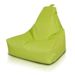 POUF - POIRE BEANBAG / POUF Keiho S - POLYESTER   citron vert.