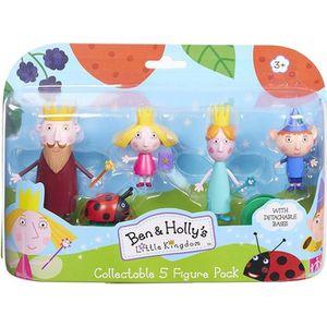 FIGURINE - PERSONNAGE Ben & Holly's Little Kingdom Ensemble de 5 figurin
