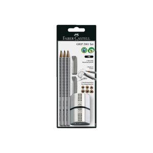 CRAYON GRAPHITE Faber-Castell GRIP 2001 Crayon HB pack de 3