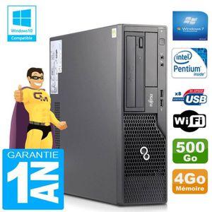 UNITÉ CENTRALE  PC Fujitsu Esprimo E500 E85+ SFF Intel G640 RAM 4G