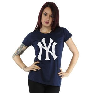 T-SHIRT Majestic Femme MLB New York Yankees Logo T-Shirt