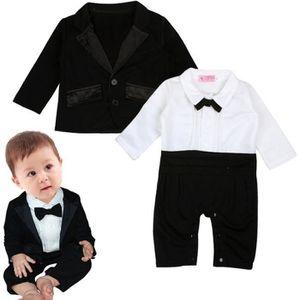 Ensemble de vêtements 0-24 Mois Bébé Garçon Costume 2 PCS Ensemble de Vê