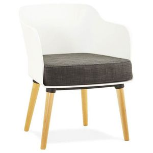 fauteuil design scandinave achat vente fauteuil design scandinave pas cher soldes cdiscount. Black Bedroom Furniture Sets. Home Design Ideas