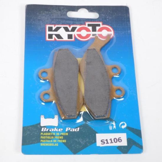 Plaquette de frein Kyoto Moto Beta 125 Rr Trail Ac 2006-2012 AV Neuf