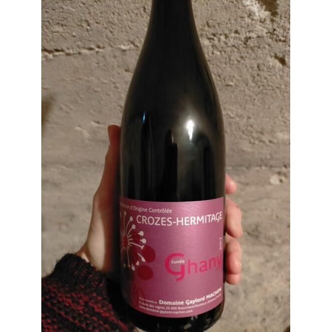 Crozes-Hermitage (rouge), domaine Gaylord Machon, cuvée Ghany 2017