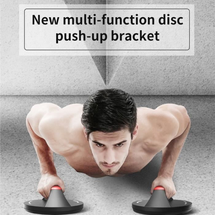 Wide Handle Comfort Grips Rotating ABS Fitness Chest Training Equipment Unisex Push Up Stands Body Building Grip Pushup Bar Rack
