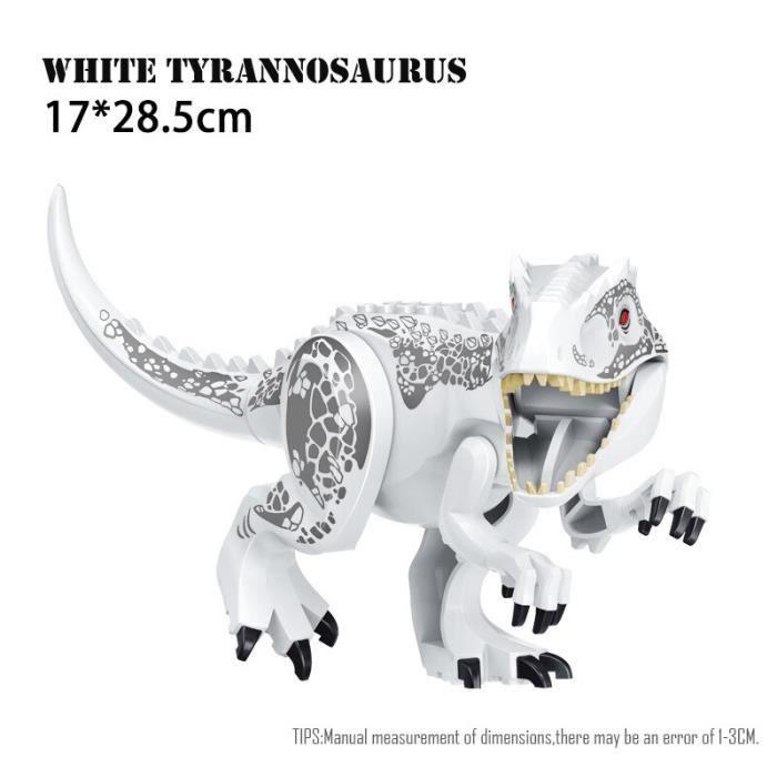 Figurines de dinosaures Jurassic World 2, jouets à assembler, modèles dinosaure T Rex Indominus i-rex, cadeau pour [24B51C3]