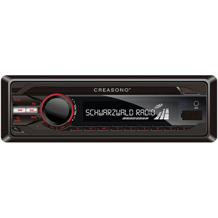 Autoradio MP3 RDS ''CAS-3300bt'' USB / SD / Bluetooth