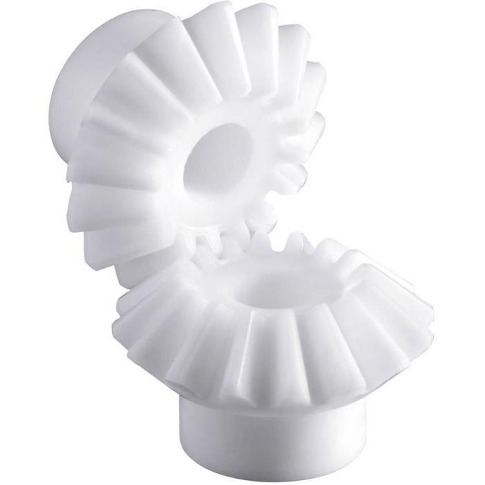 Roue conique en polyacétal Reely Type de module: 1.0 Nombre de dents: 16, 16 1 paquet(s)