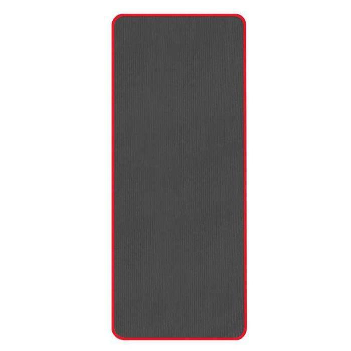 Tapis De Yoga Anti-Dérapant Très Épais 10 Mm Tapis De Sport De Fitness Sans Goût 183 X 61 Cm Noir