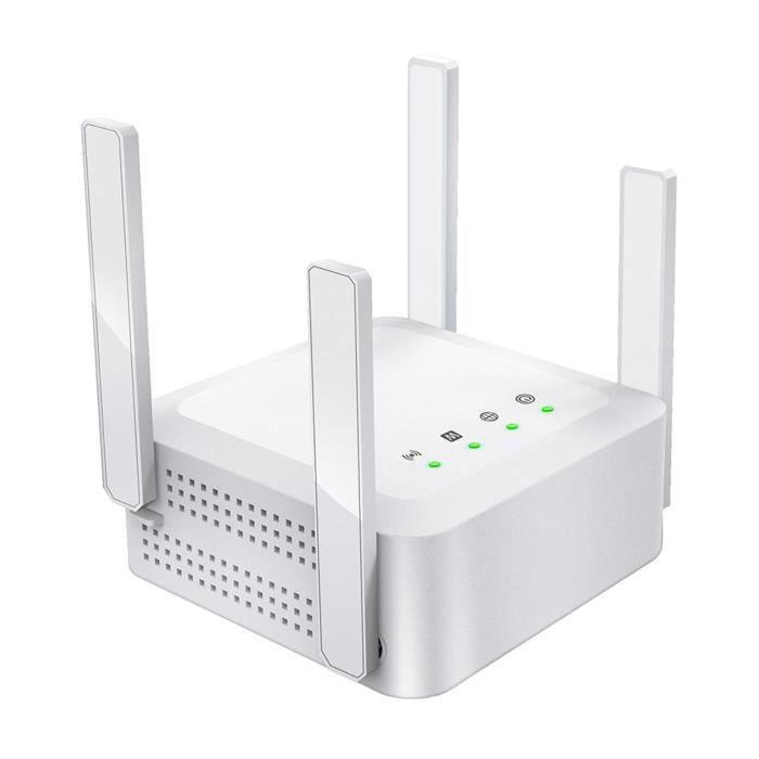 WiFi Booster 1200Mbps Dual Band étend Le Signal WiFi à La Prise EU Smart Home