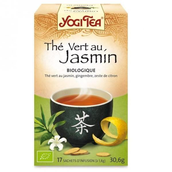 Thé vert au Jasmin Bio - 17 sachets