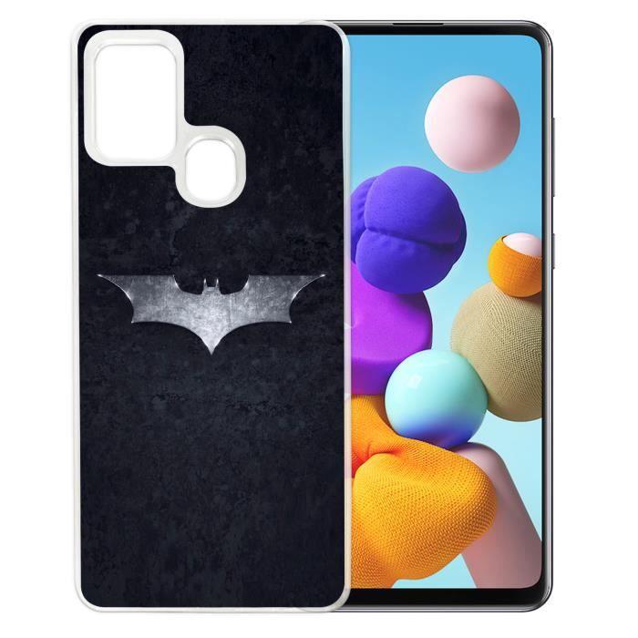 Coque pour Samsung Galaxy A21s - Batman Logo Dark