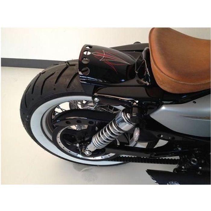 Garde-boue avant de moto Garde-boue universel de garde-boue avant de moto argent/é Accessoires de modification dailes