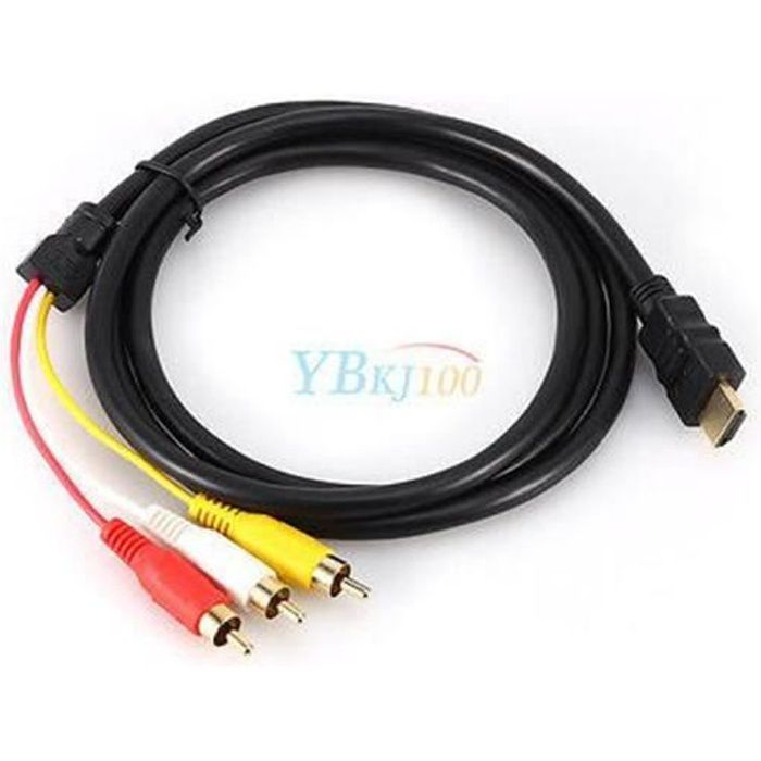 Cable Hdmi Vers Rca Achat Vente Cable Hdmi Vers Rca