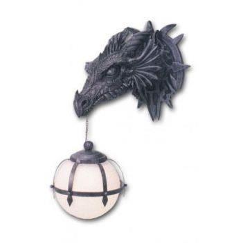 APPLIQUE  Applique lampe boule dragon gothique