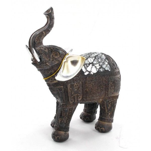 statuette l phant ceylon achat vente statue statuette r sine cdiscount. Black Bedroom Furniture Sets. Home Design Ideas