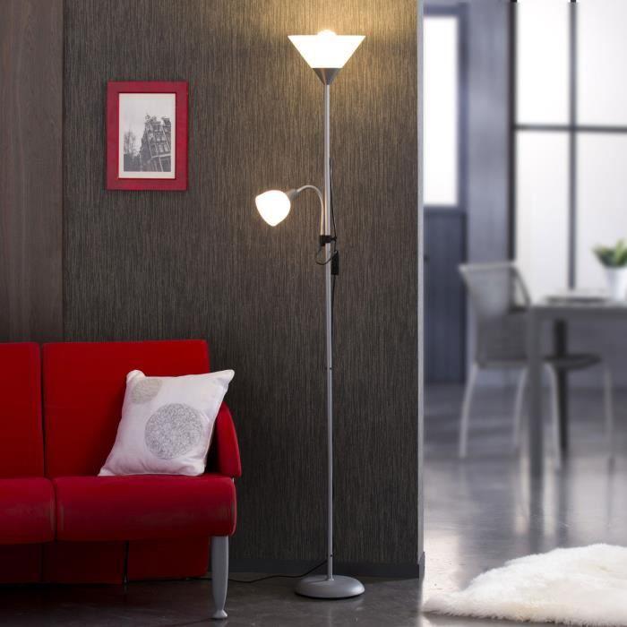 Basic Lampadaire Avec Liseuse H177 Cm
