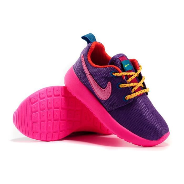 fille enfant basket chaussures roshe run sports running. Black Bedroom Furniture Sets. Home Design Ideas