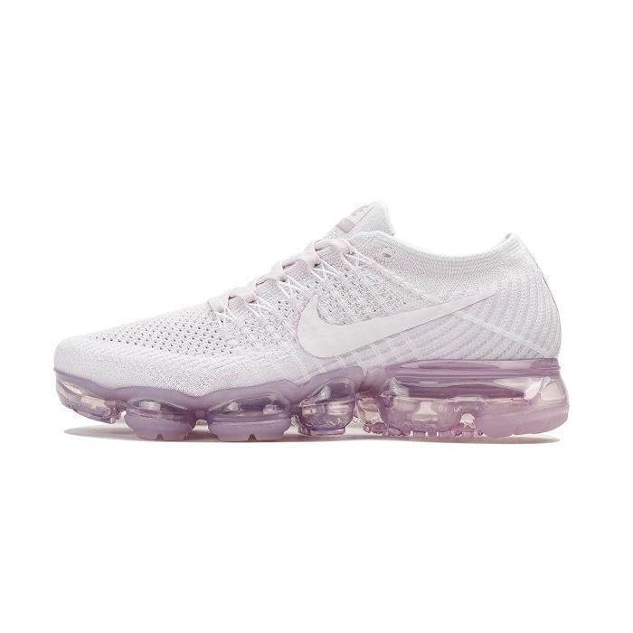 7c6f197a0d6 Baskets Nike Air Vapormax Flyknit Chaussure de Running Femme Light Violet