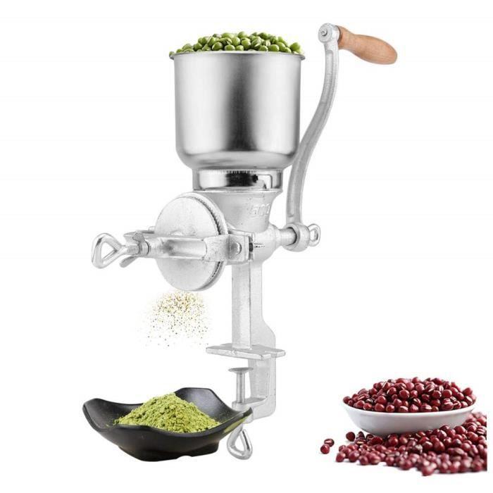 Moulin /à Grains graines Moulin /à Main /écrou /épices ma/ïs caf/é Moulin /à Farine Outil de Cuisine /équipement Alimentaire sp/écial Victool Moulin /à Grains Manuel