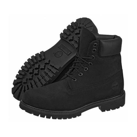 timberland chaussure femme noire