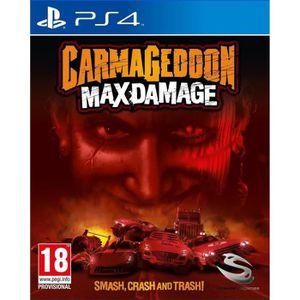 JEU PS4 Carmageddon Max Damage Jeu PS4