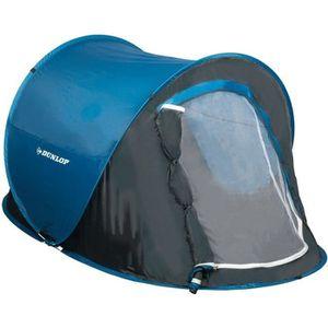 TENTE DE CAMPING DUNLOP Tente Pop-up instantané Bleu