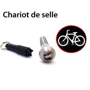 ANTIVOL Antivol vélo pour chariot de selle de vélo