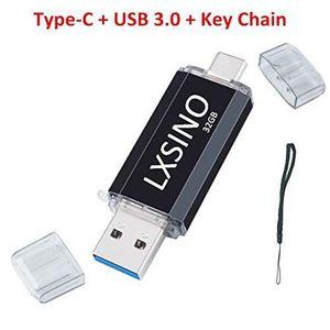 CLÉ USB Clé USB 3.0 LXSINO 32 Go Dual Type C C: clé USB OT