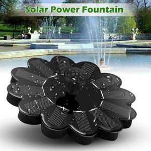 FONTAINE DE JARDIN Panneau Fontaine solaire Pompe à eau flottant d'én
