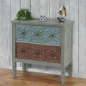 COMMODE DE CHAMBRE Commode Aveiro armoire table d'appoint, vintage, s