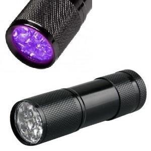 RAMASSE CROTTE lampe uv ultra violet detection d'urine d'animaux