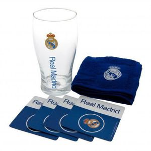 Verre à bière - Cidre Real Madrid Mini Bar Set
