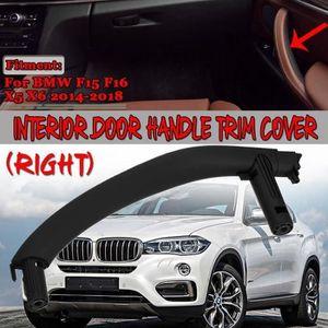 Accoudoir de porte arri/ère droit avant droit Couvercle de porte int/érieure Jaronx Poign/ée de porte pour BMW X5 X6 C/ôt/é Pessenger