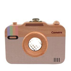 TABLE JOUET D'ACTIVITÉ Boîte à dents en forme de caméra en bois Collectio