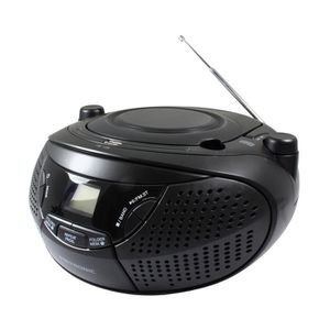 RADIO CD CASSETTE Metronic 477146 Radio CD portable avec Port USB po