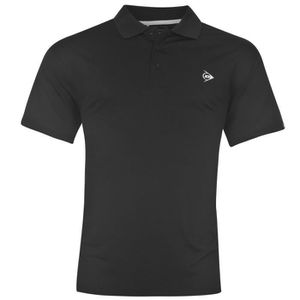 POLO Dunlop Hommes Polo T-Shirt Manches Courtes Léger S