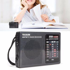RADIO CD CASSETTE T4W Portable Radio AM FM TV Récepteur Sonore Orate