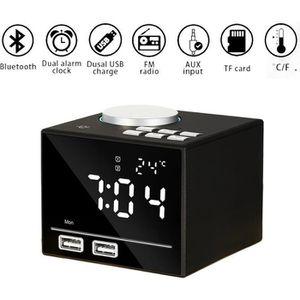 Radio réveil TEMPSA LED Radio Réveil Numérique - K3 Bluetooth H