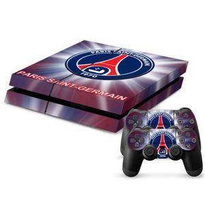 STICKER - SKIN CONSOLE Vip2store® PSG/PS4 Skin Autocollant console de jeu