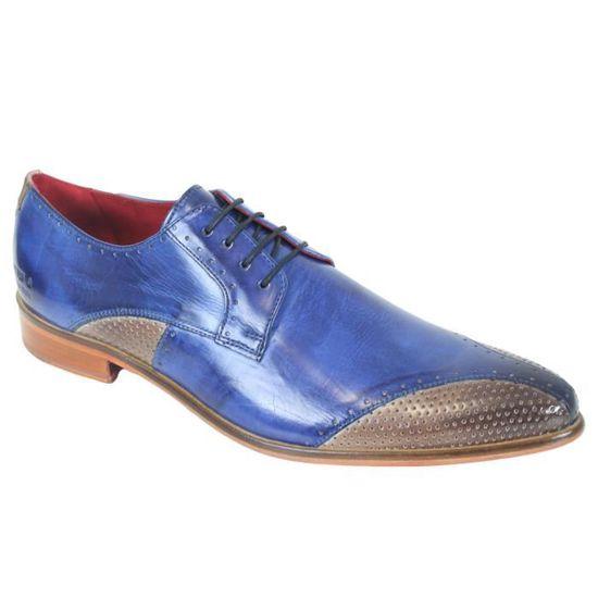 mieux choisir 60% pas cher toujours populaire Chaussure en cuir Melvin & Hamilton Toni 9 Bleu - Achat ...
