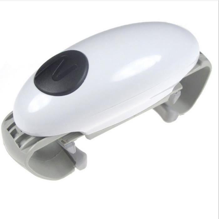 One Touch Ouvre Bocal Automatique,Multifonction Ouvrir des bocaux et vaisseaux