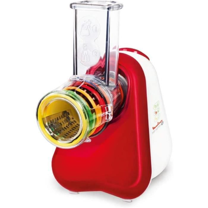 Moulinex DJ756G15 Hachoir/Tranche-légumes Fresh Express PLUS