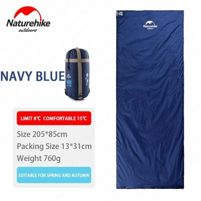 Navy Blue 205x85cm -NATUREHIKE — Sac de couchage ultra léger, nouveauté, voyage, dormir en plein air, randonnée, camping, sommeil, s
