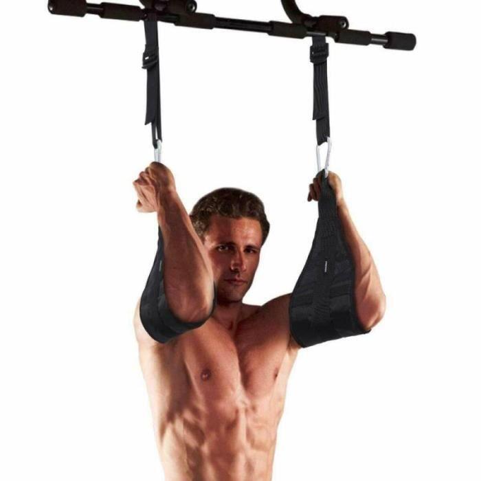 Sangles de Fitness Anti chute pour AB, équipement de gymnastique à la maison, serrage des jambes et du menton~ JS2337