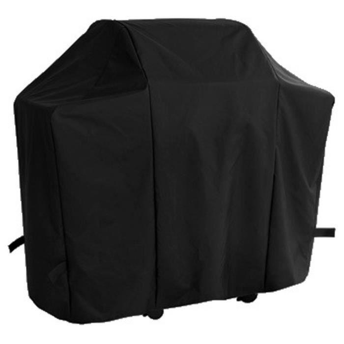 Housse pour barbecue gaz 190x80cm polyester noir gamme confort
